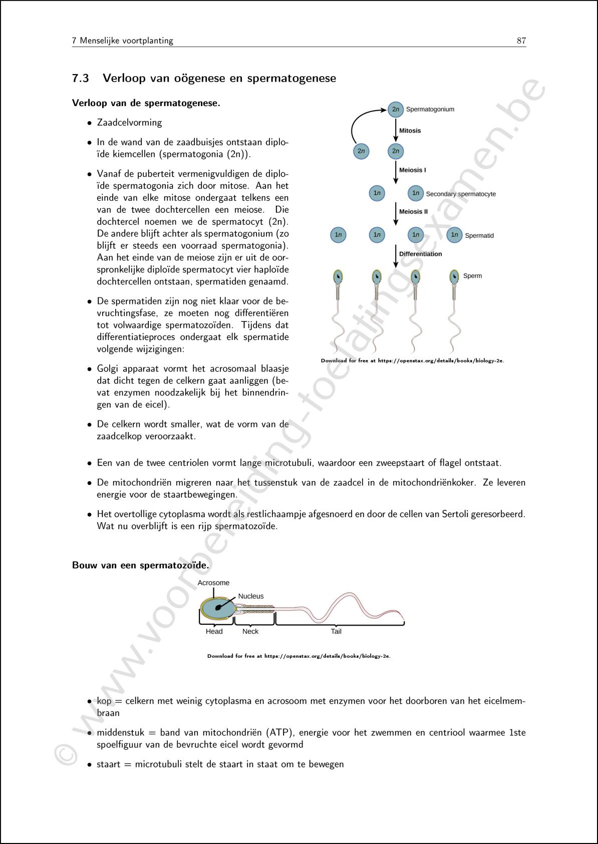 ingangsexamen cursus theorie biologie 2